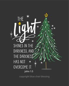Christmas: His light shines in the da. Christmas: His light shines in the darkness 8 by 10 print Christian t-shirts, tank tops and ar