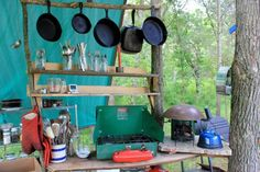 Setting Up: An Outdoor Kitchen