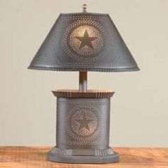 Primitive Country Lamps Freeport Lamp Colonial Light Table