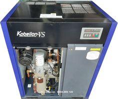Cung cấp máy nén khí trục vít ngâm dầu công suất 11 kw 15 Hp Kobelco Kobelion VS175AD có hệ thống tách ẩm và tích hợp sẵn biến tần. Máy đời cao, chất lượng tốt, giá hợp lý. Liên hệ 0904.869.140