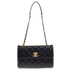 b59942198964fe Pre-Owned Chanel Trendy CC Flap Bag in Quilted Lambskin $2,780 Vintage  Chanel, Luxury