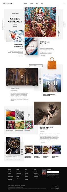 Vermilion  - Creative Design Website
