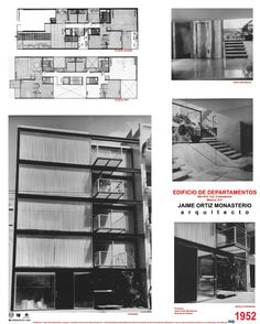 Edificio en la calle de Nilo, Cd. de México- Arq Jaime Ortiz Monasterio