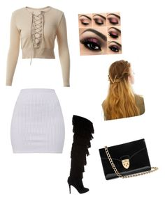 """""""Fall Baby"""" by hannahhaley101 on Polyvore featuring Christian Louboutin, Aspinal of London and WithChic"""