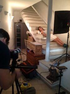 """Primo giorno di riprese del videoclip """"Sambo per Amor"""" di Gaia Gentile"""