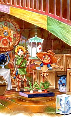 Legend of Zelda Majora's Mask observatory