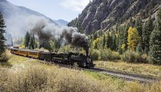 If you are looking for train rides in Colorado, you must consider the Durango and Silverton narrow gauge railroad train. Silverton Train, Mother Language Day, Flying Scotsman, Voyager Loin, Old Trains, Train Journey, Steam Locomotive, Historical Society, Free Pictures