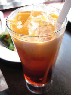 Cafés fríos o helados: bebidas refrescantes para el verano: Café helado al melocotón