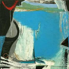 Peter Lanyon (1918 – 1964) was a Cornish painter of landscapes leaning heavily towards abstraction.