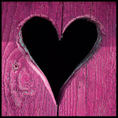 Pink Heart by Far from the Saddening Crowds, via Flickr