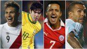Eliminatorias: guía TV de los partidos de Sudamérica. Otro duele fuerte será Brasil-Chile. Octubre 05, 2015.