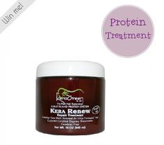 KeraGreen's KeraRenew Protein Treatment - Fortified with silk proteins and argan oil, this deep nourishing treatment usually retails for about 60 dollars!   Treat your clients to this wonderful mask after a color service or retail for your client to take home. Paraben-free. #SalonProductsToTry