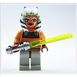 LEGO Star Wars Minifigur - Clone Wars - Ahsoka mit Laserschwert Griff in Flat Silver Clone Wars, Lego Star Wars Minifiguren, Lego Figures, Baby Items, Ronald Mcdonald, Coupons, Neon, Fictional Characters, Ebay