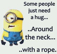 Minions Just Need a Hug