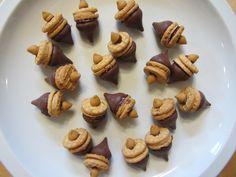 edible food art for kids | Acorn Treats: Food Craft for Kids