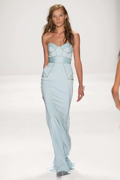 Badgley Mischka Collection - New York Fashion Week 2015 Spring - love pretty dresses like this!