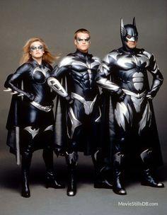 Batman, Batichica and Robin
