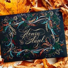 304 отметок «Нравится», 23 комментариев — F Phyllis Macaluso (@fpmmac) в Instagram: «#handlettering #handwriting #copperplate #calligraphy #creative #create #envelopeart…»