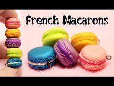 Полимерная глина - Французский МАКАРОН (мастер-класс) / Polymer clay Fre...
