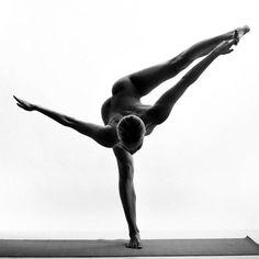 Nude Yoga Girl - HarpersBAZAAR.com