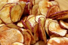 Microwave Potato Chips . . . Crunchy, Healthy Perfection!One Good Thing by Jillee | One Good Thing by Jillee