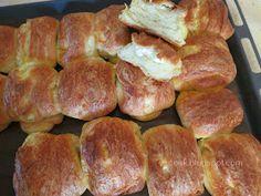 Ζουζουνομαγειρέματα: Τυρόπιτες πακετάκια με σπιτική σφολιάτα μαγιάς! Sausage, Pork, Meat, Cooking, Pork Roulade, Cucina, Sausages, Pigs, Kochen