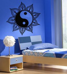 Sun Wall Decals Mandala Protection AmuIets by DecalMyHappyShop