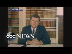 July 25, 1969: Ted Kennedy addresses Chappaquiddick accident - YouTube