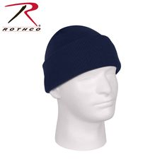 Rothco Deluxe Fine Knit Watch Cap Navy Blue