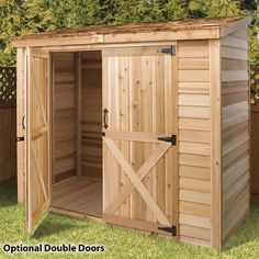 Shed Door Ideas best 25 sliding barn doors ideas on pinterest Backyard Sheds Garden Sheds Small Sheds Tool Sheds Storage Sheds Double Doors Lean To Shed Outdoor Storage Ferrets