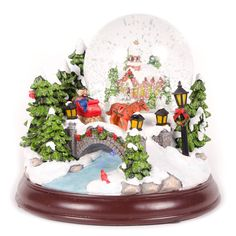 Christmas Snow Globes | Christmas Snow Globe Musical