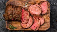Roastbeef: Außen kräftig angebraten, innen butterzart und rosa