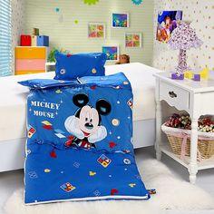 Mickey Mouse Style4 Blue Disney Sleeping Bag Sets