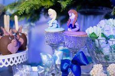 Cupkac Anna, Elsa e Sven Festa Frozem Decor Sueli Coelho