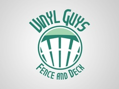 Logo for a vinyl fence and deck company in my home town.