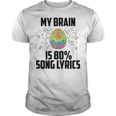 Musical Brain Is 80% Song Lyrics