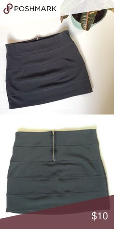 """SALE 🎉 Bandage Mini Skirt Bandage mini skirt from Ambiance Apparel. Size: M. Color: grey. 95% polyester, 5% spandex. Length is approx 14"""". Ambiance Apparel Skirts Mini"""