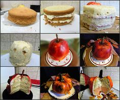 cakes with airbrush