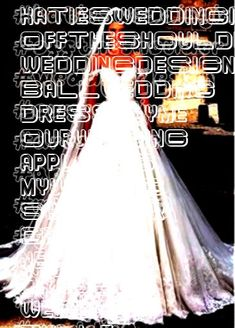 - I'm a girl writing an article. Ball Dresses, Ball Gowns, Gown Wedding, Wedding Dresses, Lace Applique, Appliques, Wedding Designs, Off The Shoulder, Lace Dress