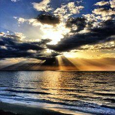Goodmoorning sun ! Sunrise in Myrtle beach