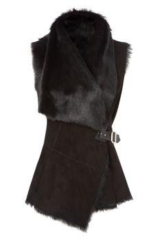 Alpin Goat Waistcoat - Nicole Farhi