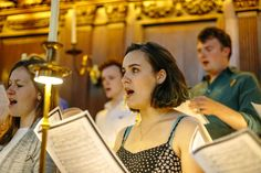 Univ Choir – singing for our latest CD recording.