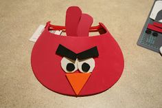 Tarkheena Crafts: DIY Angry Birds Visors