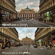 Moving closer is often half the problem with our smartphone pictures.