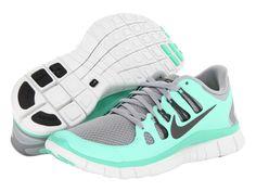 Nike Free 5.0+ Black/Dark Grey/White/Metallic Silver - Zappos.com Free Shipping BOTH Ways