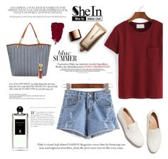 """""""SheIn"""" by beenabloss ❤ liked on Polyvore featuring Nude by Nature, Serge Lutens and FEIT"""
