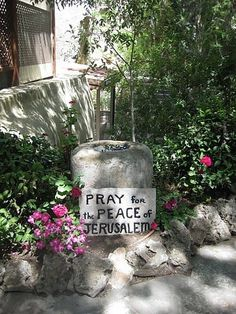 Places I visited in Israel ~ At the Garden Tomb