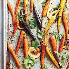 Vegan Recipes: Moroccan-Spiced Baby Carrots | CookingLight.com
