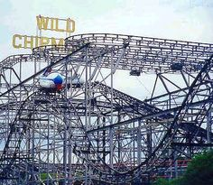 Wild Chipmunk ride at Lakeside Amusement Park, Denver. This was my favorite ride at Lakeside, which was only a few miles from my house when a kid.