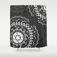 Customize your bathroom decor with unique shower curtains designs • Made from 100% polyester • 12 button-hole top for simple hanging • The easy care material allows for machine wash and dry maintenanc